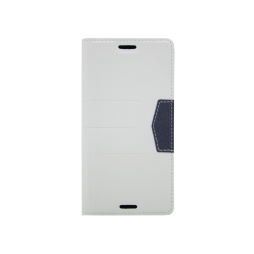Sony Xperia XA1 - Preklopna torbica (47G) - bela