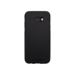 Samsung Galaxy A3 (2017) - Gumiran ovitek (TPUT) - črn