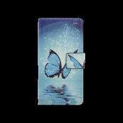 Huawei P10 - Preklopna torbica (WLGP) - Blue butterfly