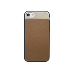 Apple iPhone 7/8 - Gumiran ovitek (71A) - rjav