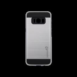 Samsung Galaxy S8 - Gumiran ovitek (ARM-01) - srebrn