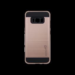 Samsung Galaxy S8+ - Gumiran ovitek (ARM-01) - roza-zlat