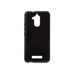 Asus Zenfone 3 Max ZC520TL - Gumiran ovitek (TPU) - črn svetleč