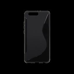 Huawei P10 Plus - Gumiran ovitek (TPU) - črn SLine