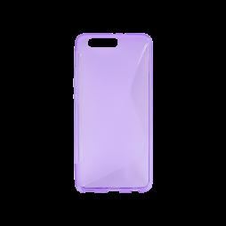 Huawei P10 Plus - Gumiran ovitek (TPU) - vijolično-prosojen SLine