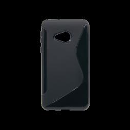 HTC U Play - Gumiran ovitek (TPU) - črn SLine