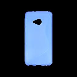 HTC U Play - Gumiran ovitek (TPU) - modro-prosojen SLine