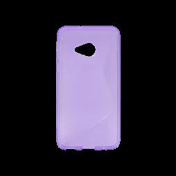 HTC U Play - Gumiran ovitek (TPU) - vijolično-prosojen SLine