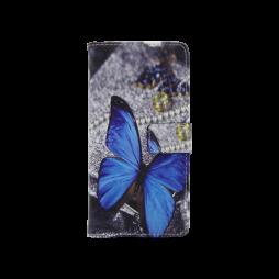 Huawei P10 - Preklopna torbica (WLGP) - Blue butterfly 2