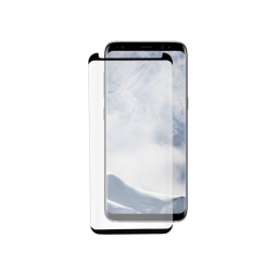 Samsung Galaxy S8+ - Zaščitno steklo Premium (0,33) - case-friendly, črno