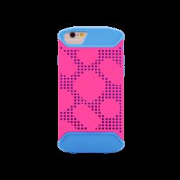Apple iPhone 8/7/6/6S - Okrasni pokrovček (72) - moder & roza