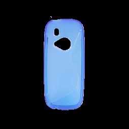 Nokia 3310 (2017) - Gumiran ovitek (TPU) - modro-prosojen SLine