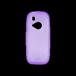 Nokia 3310 (2017) - Gumiran ovitek (TPU) - vijolično-prosojen SLine