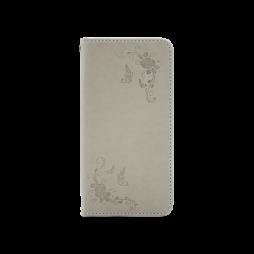 Huawei Honor 8 Lite/8 Lite (2017)/P9 Lite (2017)/ Nova Lite - Preklopna torbica (WLGO-Butterfly) - siva