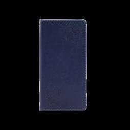 Samsung Galaxy S8 - Preklopna torbica (WLGO-Butterfly) - modra