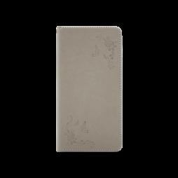 Samsung Galaxy S8 - Preklopna torbica (WLGO-Butterfly) - siva