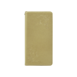 Samsung Galaxy S8 - Preklopna torbica (WLGO-Butterfly) - zlata