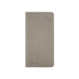 Samsung Galaxy S8+ - Preklopna torbica (WLGO-Butterfly) - siva