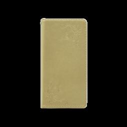 Samsung Galaxy S8+ - Preklopna torbica (WLGO-Butterfly) - zlata