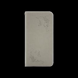 Huawei P10 - Preklopna torbica (WLGO-Butterfly) - siva
