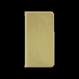 Huawei P10 - Preklopna torbica (WLGO-Butterfly) - zlata