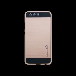 Huawei P10 Plus - Gumiran ovitek (ARM-01) - roza-zlat