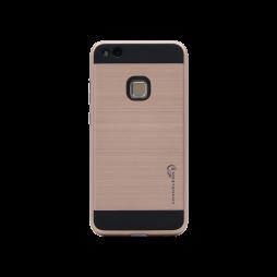 Huawei P10 Lite - Gumiran ovitek (ARM-01) - roza-zlat