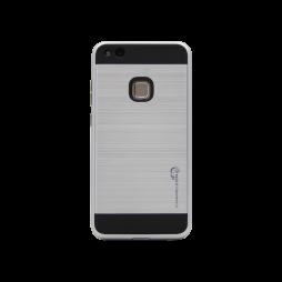 Huawei P10 Lite - Gumiran ovitek (ARM-01) - srebrn