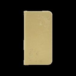 LG K10 (2017) - Preklopna torbica (WLGO-Butterfly) - zlata