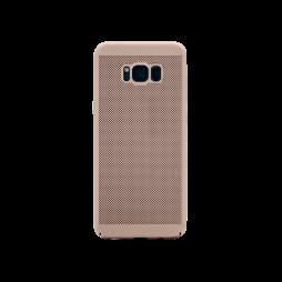 Samsung Galaxy S8 - Okrasni pokrovček (65H) - roza-zlat