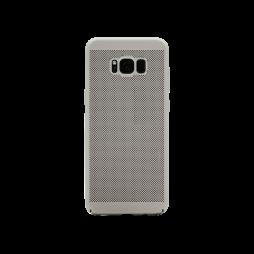 Samsung Galaxy S8 - Okrasni pokrovček (65H) - srebrn