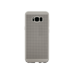Samsung Galaxy S8+ - Okrasni pokrovček (65H) - srebrn