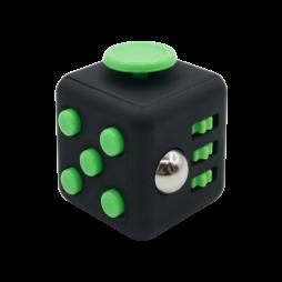 Kocka za sproščanje - črno-zelena