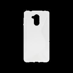 Huawei Nova Smart/Enjoy 6S/Honor 6C - Gumiran ovitek (TPU) - belo-prosojen SLine