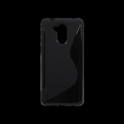 Huawei Nova Smart/Enjoy 6S/Honor 6C - Gumiran ovitek (TPU) - črn SLine