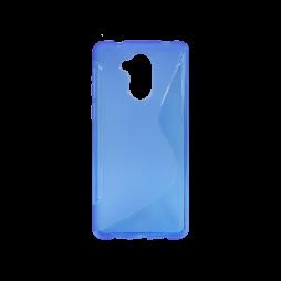 Huawei Nova Smart/Enjoy 6S/Honor 6C - Gumiran ovitek (TPU) - modro-prosojen SLine