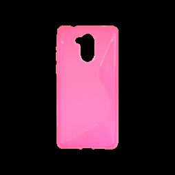 Huawei Nova Smart/Enjoy 6S/Honor 6C - Gumiran ovitek (TPU) - roza-prosojen SLine