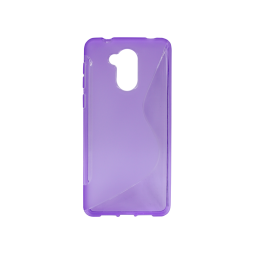 Huawei Nova Smart/Enjoy 6S/Honor 6C - Gumiran ovitek (TPU) - vijolično-prosojen SLine