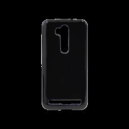 Asus Zenfone Go ZB552KL - Gumiran ovitek (TPU) - črn svetleč