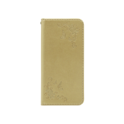 Samsung Galaxy J5 (2016) - Preklopna torbica (WLGO-Butterfly) - zlata