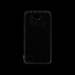 LG X Power 2 - Gumiran ovitek (TPU) - črn svetleč