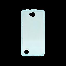LG X Power 2 - Gumiran ovitek (TPU) - turkizno-prosojen svetleč