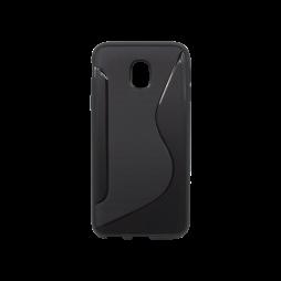 Samsung Galaxy J3 (2017) - Gumiran ovitek (TPU) - črn CS-Type