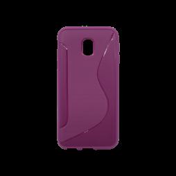 Samsung Galaxy J3 (2017) - Gumiran ovitek (TPU) - vijoličen CS-Type