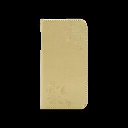 Samsung Galaxy J5 (2017) - Preklopna torbica (WLGO-Butterfly) - zlata