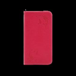 Samsung Galaxy J7 (2017) - Preklopna torbica (WLGO-Butterfly) - rdeča