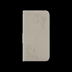 Samsung Galaxy J7 (2017) - Preklopna torbica (WLGO-Butterfly) - siva