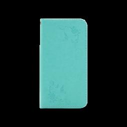 Samsung Galaxy J7 (2017) - Preklopna torbica (WLGO-Butterfly) - zelena