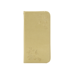 Samsung Galaxy J7 (2017) - Preklopna torbica (WLGO-Butterfly) - zlata