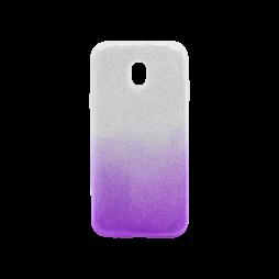 Samsung Galaxy J3 (2017) - Gumiran ovitek (TPUB) - vijolična